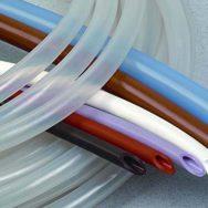 Трубки резиновые, силиконовые, ПВХ