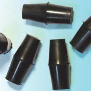 Пробка резиновая для бутирометров (жиромеров) двухконусная, 12,5*14,5 ЗАО ЛенРеактив