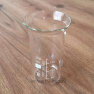 стакан лабораторный стеклянный термостойкий высокий 250 мл купить в розницу