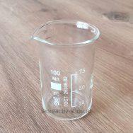 стакан стеклянный лабораторный термостойкий 100 мл купить в розницу в интернет-магазине