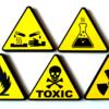Магниты сувенирные знаки химической опасности