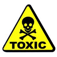 Значок сувенирный Токсичное вещество Ядовитые вещества